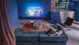 Philips TV OLED+935 mit Bower & Wilkins. Foto: Philips TV
