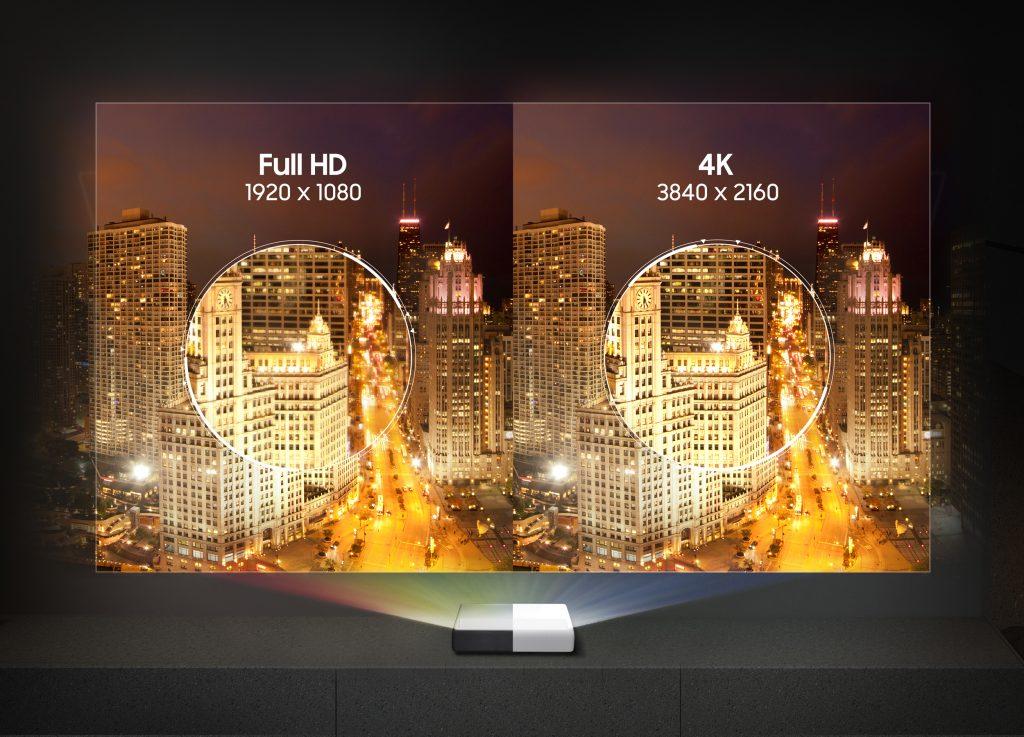 Samsung Projektpr The Premiere Full HD und 4K. Foto: Samsung