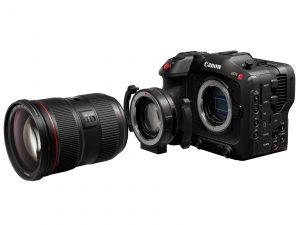 Bajonettadapter EF-EOS R 0.71x für Canon Vollformat-Kamera EOS C70