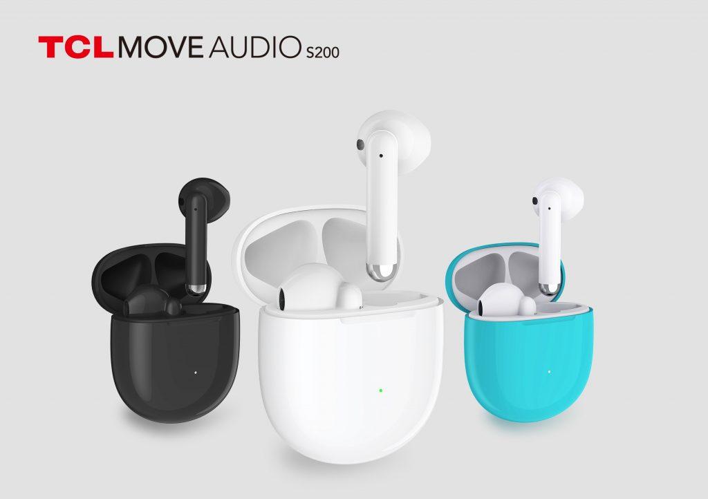 TCL Moveaudio S200 True-Wireless-Kopfhörer. Foto: TCL