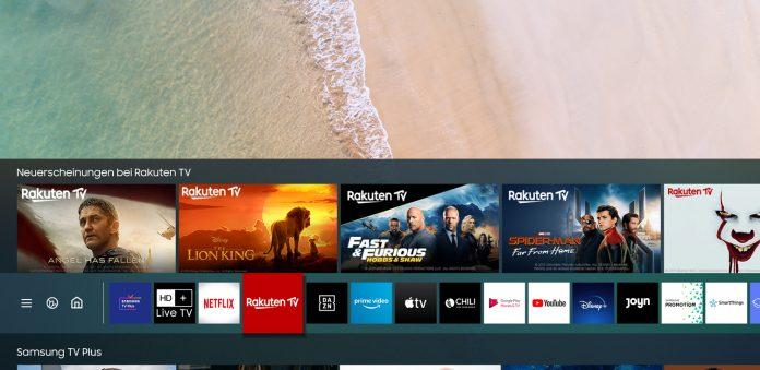 Samsung SmartHub und Magenta TV. Foto: Samsung