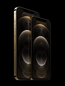 Apple iphone 12 pro stainless steel gold. Foto: Apple