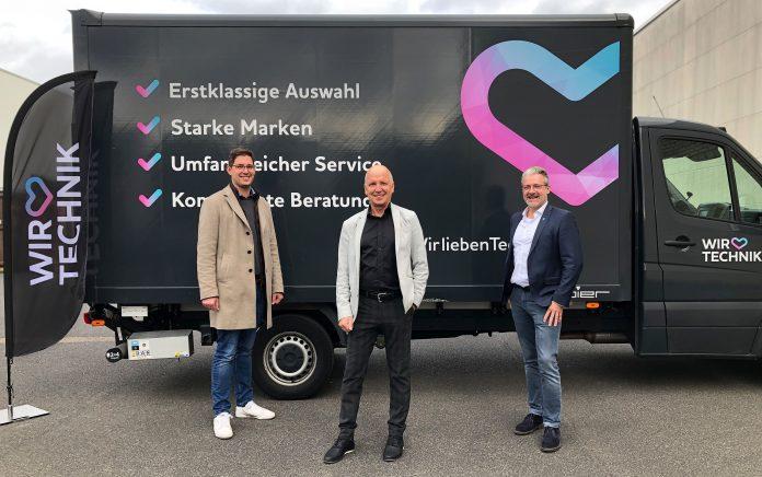 Wir lieben Technik: Domink Wassong, Peter Schiefelbein, Michael Melcher