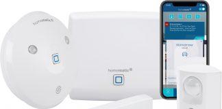Homematic IP Starter Set Alarm mit Smartphone
