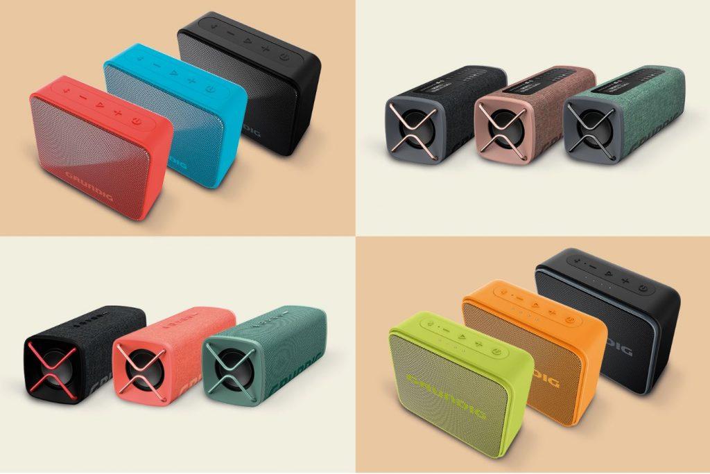 Grundig Bluetooth-Speaker GBT, JAM, CLUB, BAND, GBT-SOLO. Foto: Grundig