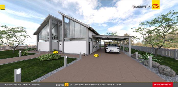 ZVEH Virtuelles E-Haus. Foto: Werbebaugesellschaft mbH