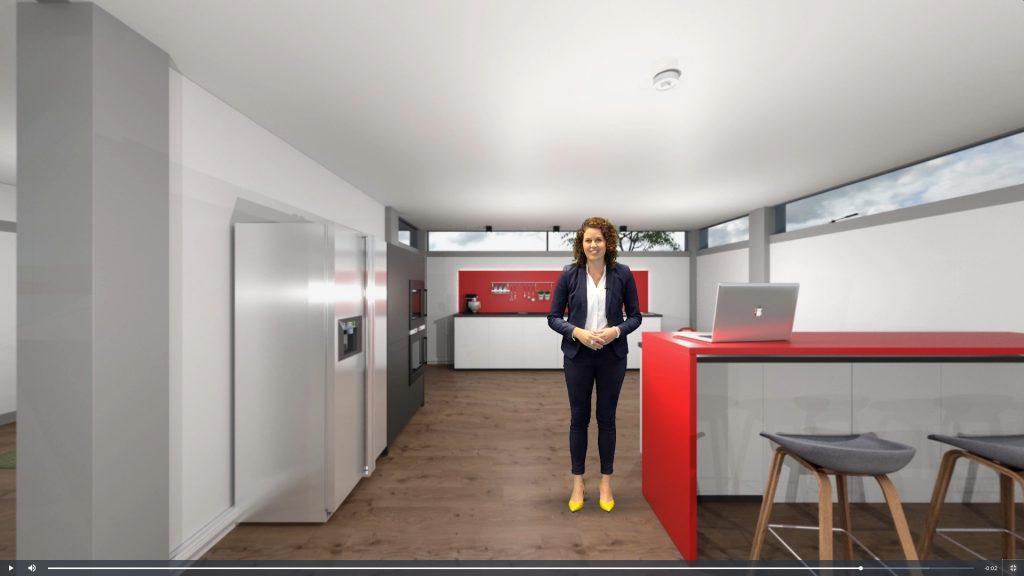 ZVEH Virtuelles-E-Haus Küche. Foto: Werbebaugesellschaft mbH