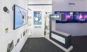 Exponate im BenQ-Showroom