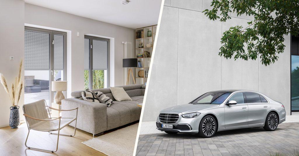 Bosch Smart Home x MBUX. Foto: Bosch