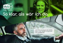 DAB+ Kampagne im Auto