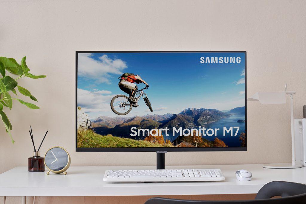 Samsung Smart Monitor M7 und M5. Foto: Samsung