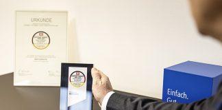 Wertgarantie hat es erneut in die Top 10 der nachhaltigen Versicherungen geschafft. Zudem erhielt Wertgarantie auch in diesem Jahr den Deutschen Fairness-Preis in der Kategorie Handy-/Elektronikversicherungen verliehen.