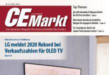 CE-Markt 12/2020 Print-Titel LG. Foto: CE-Markt