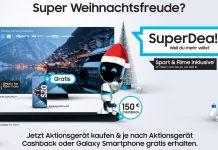 Samsung Promotion Xmas 2020 SuperDeals. Foto: Samsung