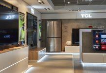 TCL Shop-in-Shop im Hamburger Saturn. Foto: TCL