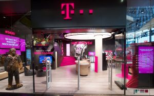 Telekom Flagship Store in Frankfurt. Foto: Telekom