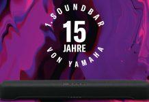 Yamaha 15 Jahre Soundbar Cashback. Foto: Yamaha