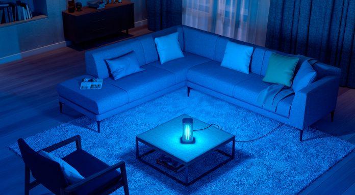 philips-uv-c-b2c-livingroom. Foto: Signify