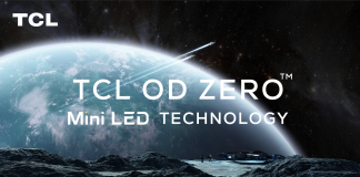 TCL auf CES 2021 mit OD Zero. Foto: TCL