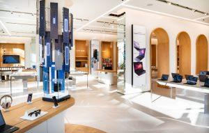 Huawei Flagship Store, 450 Quadratmeter Fläche