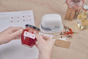 Der e-mark druckt Etiketten, Karten und vieles mehr