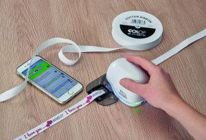 Ribbon Guide für den Druck auf Stoffbändern
