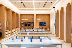 Huawei Flagship Store von Innen