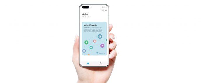 Huawei Wallet, bezahlen per Handy