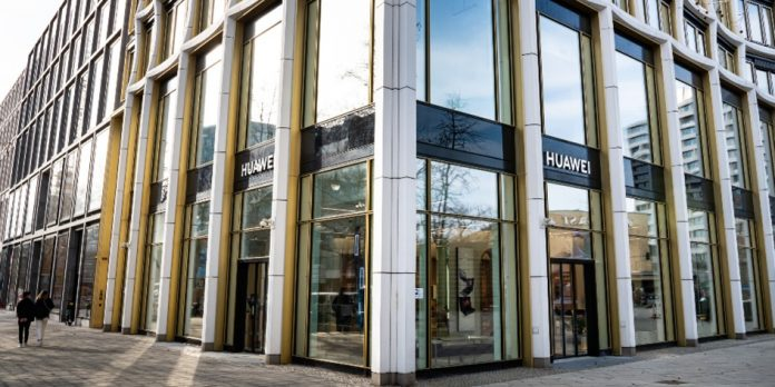 Huawei Flagship Store in Berlin