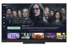 TV Now auf Panasonic-TV