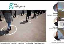 Webinar von gap intelligence zum Thema: Post lockdown retail