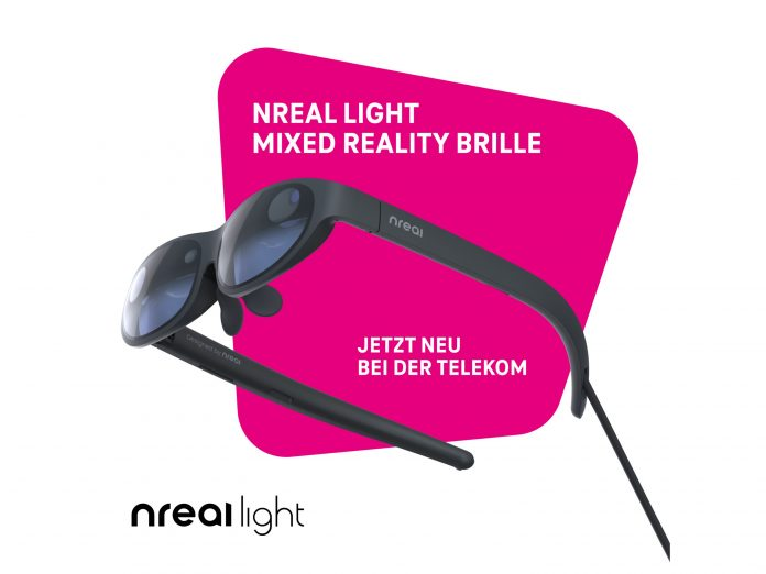 Mixed-Reality-Brille Nreal Light bei der Telekom