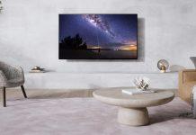 Panasonic OLED TV TX-65JZW1004 Wandmontage
