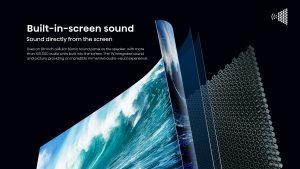 Hisense 88L5VG Sonic Screen Laser TV mit DML-Technologie