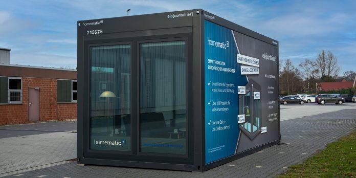 Homematic IP Showroom-Außenansicht