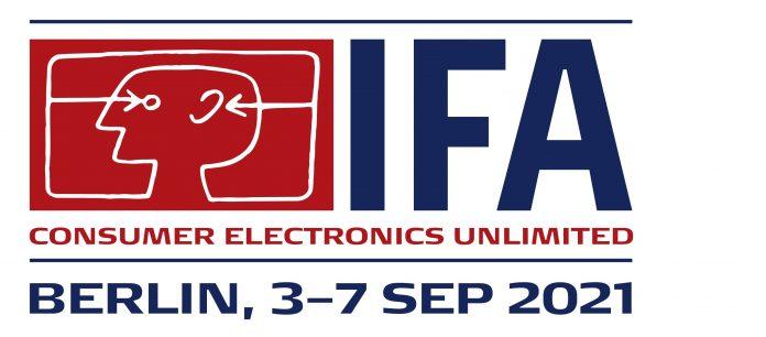 IFA 2021 Logo mit Datum