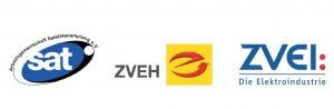 Logo AG Sat ZVEH ZVEI