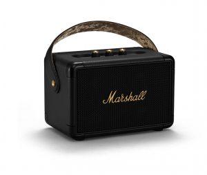 Marshall Kilburn II in black-and-brass