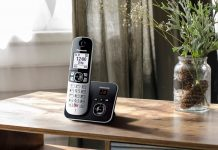 Panasonic-Schnurlostelefon KX-TG6861 Lifestyle-Bild