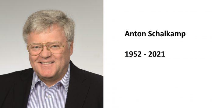 RIP Anton Schalkamp