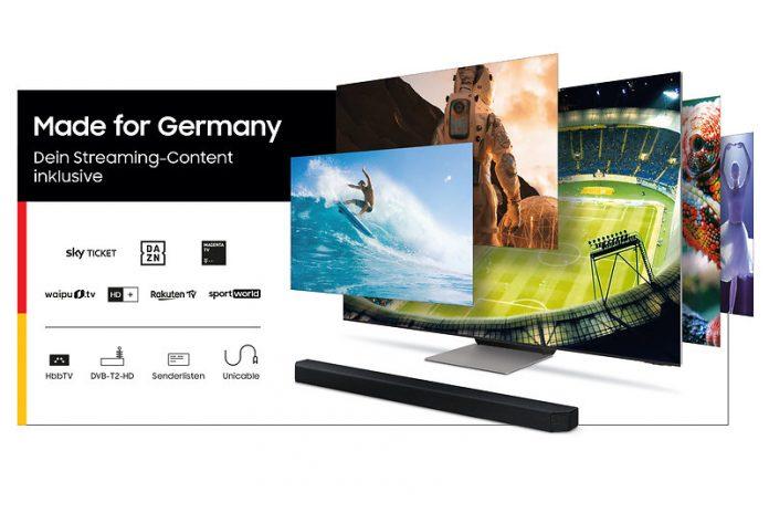 Samsung Made For Germany-Aktion Visual