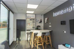 Homematic IP Showroom Innenansicht