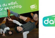 Startmotiv DAB+ Kampagne mit Logo