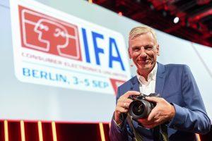 Wolfgang Heinen auf der IFA 2020 Special Edition