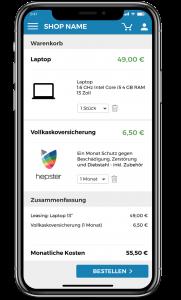 hepster Smartphone-Versicherung