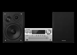 Panasonic HiFi-System PMX802 in Silber