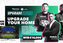 Hisense UpgradeYourHome-Kampagne zur Uefa Euro 2020