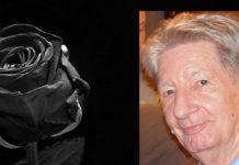 Klaus Nestele ist tot, Porträt mit schwarzer Rose