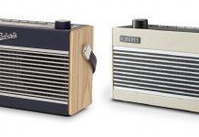 Roberts RamblerBT Stereo (links) und Roberts RamblerBT pastel cream