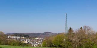 DAB+ Sendemast in der Eifel